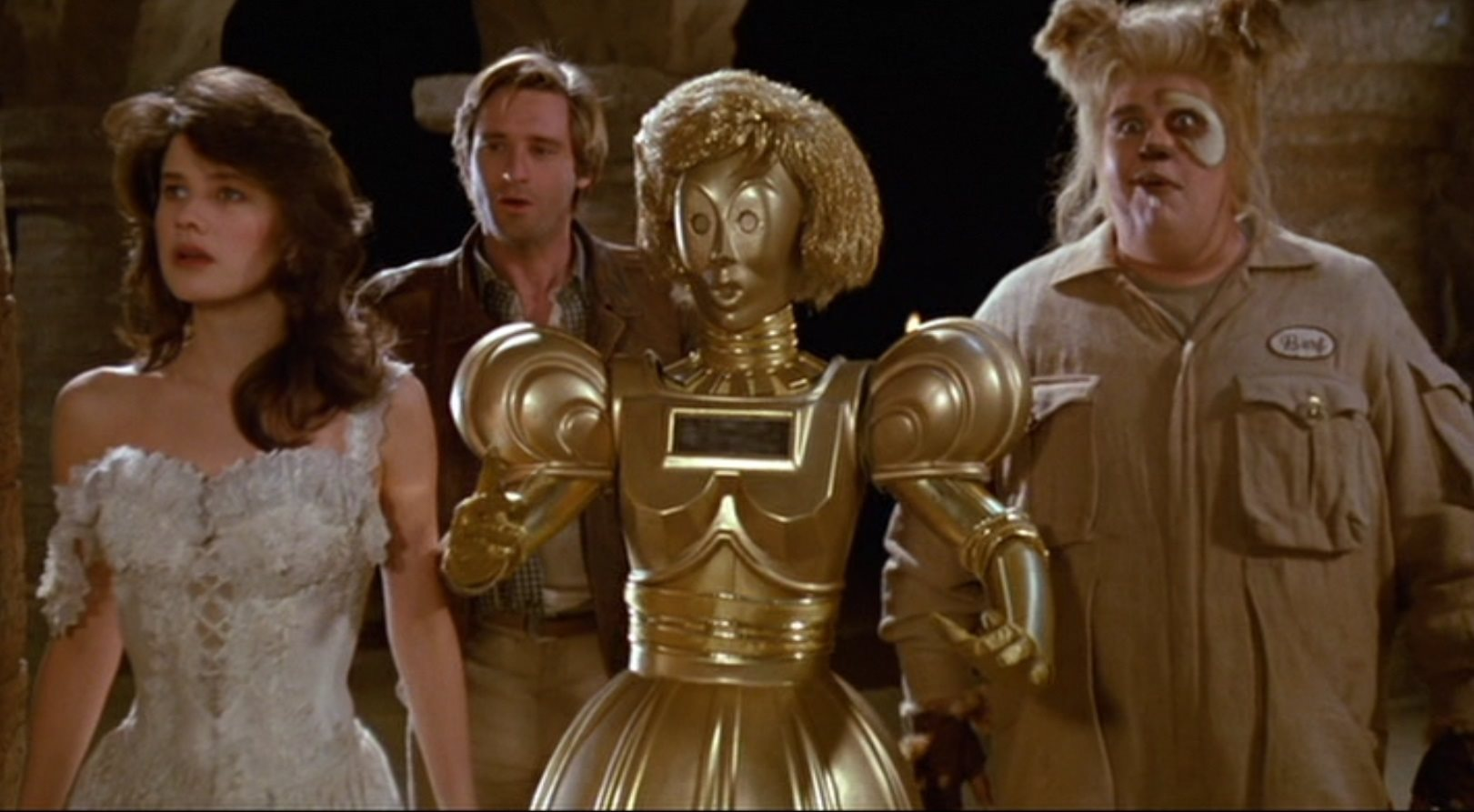 dot mat You Have To Check Out The Cast Of 'Spaceballs' Then And Now!