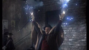 Emelius casting a spell with his hands