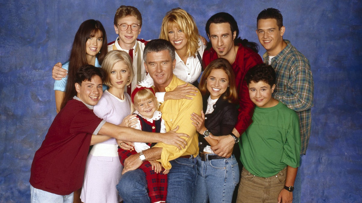 The cast of Step by Step
