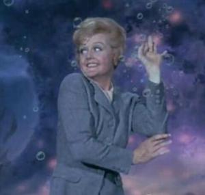 Miss Price underwater