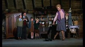 Miss Price teaching the children