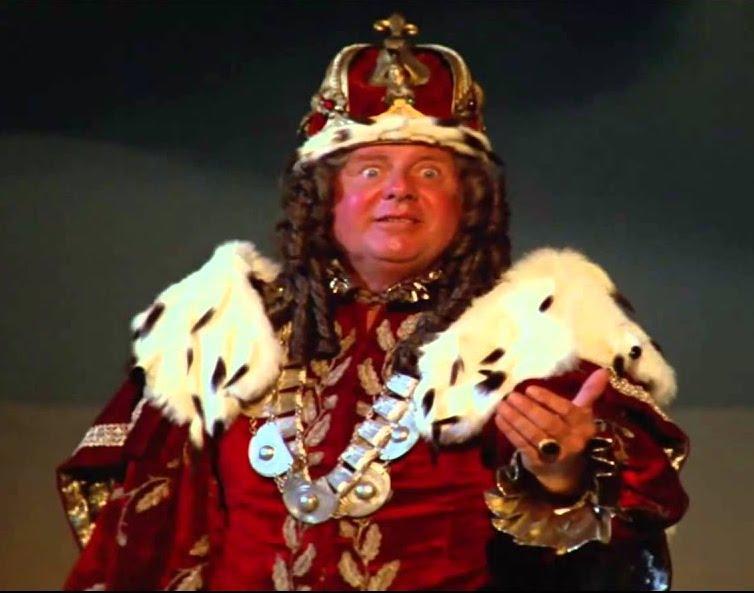 Dick Van Patten as King Roland