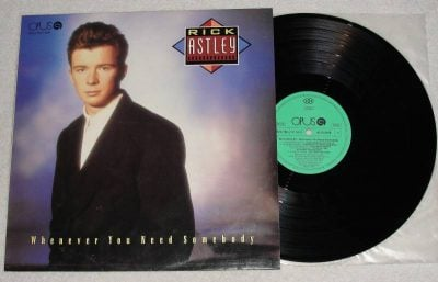 Rick Astley original vinyl