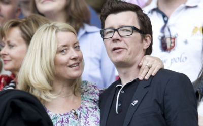 Astley and his wife Lene
