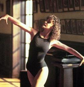 Jennifer Beals performing in Flashdance
