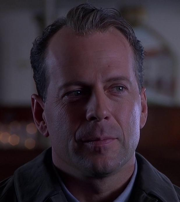 Bruce Willis as Malcolm Crowe in The Sixth Sense