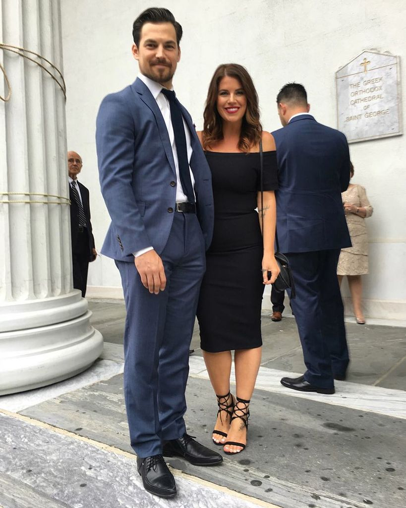 Grey's Anatomy Star Giacomo Giannotti with his real-life partner Nichole