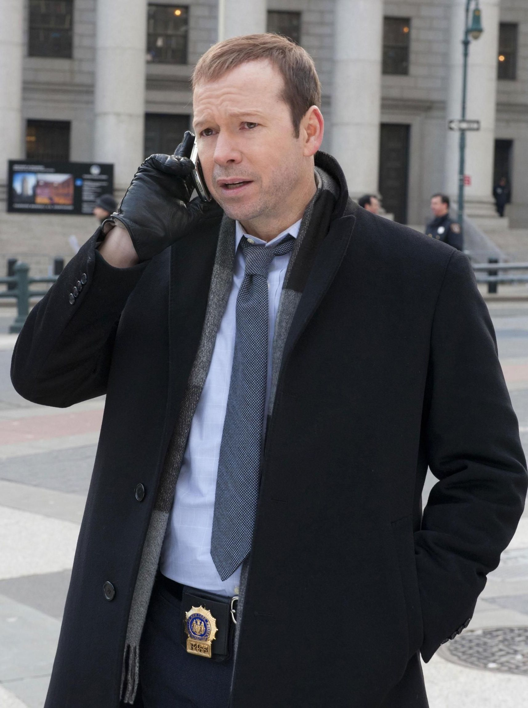Donnie Wahlberg as Daniel Reagan in Blue Bloods