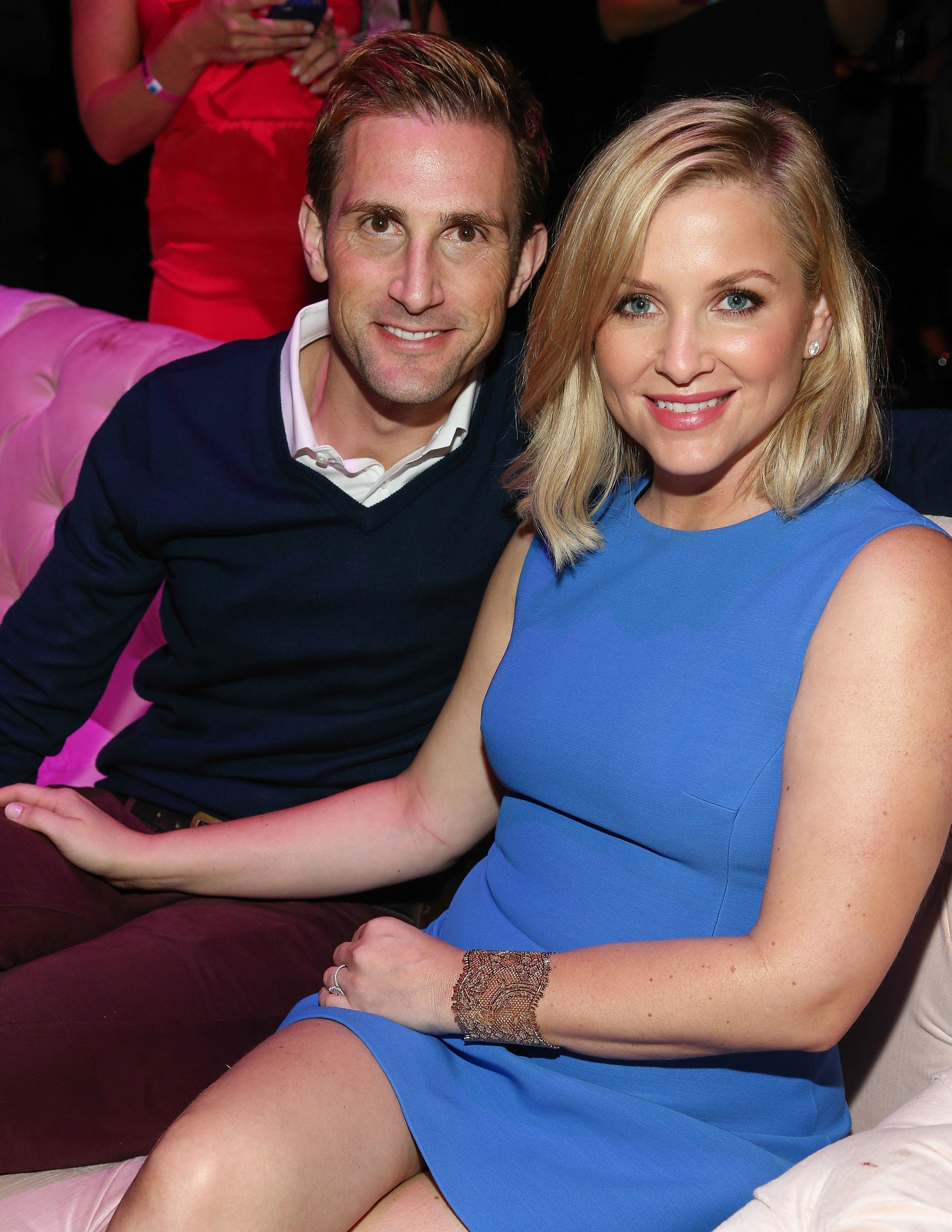 Grey's Anatomy Star Jessica Capshaw with her real-life partner Christopher Gavigan