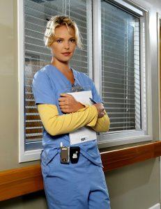 Katherine Heigl as Izzy Stephens in Grey's Anatomy