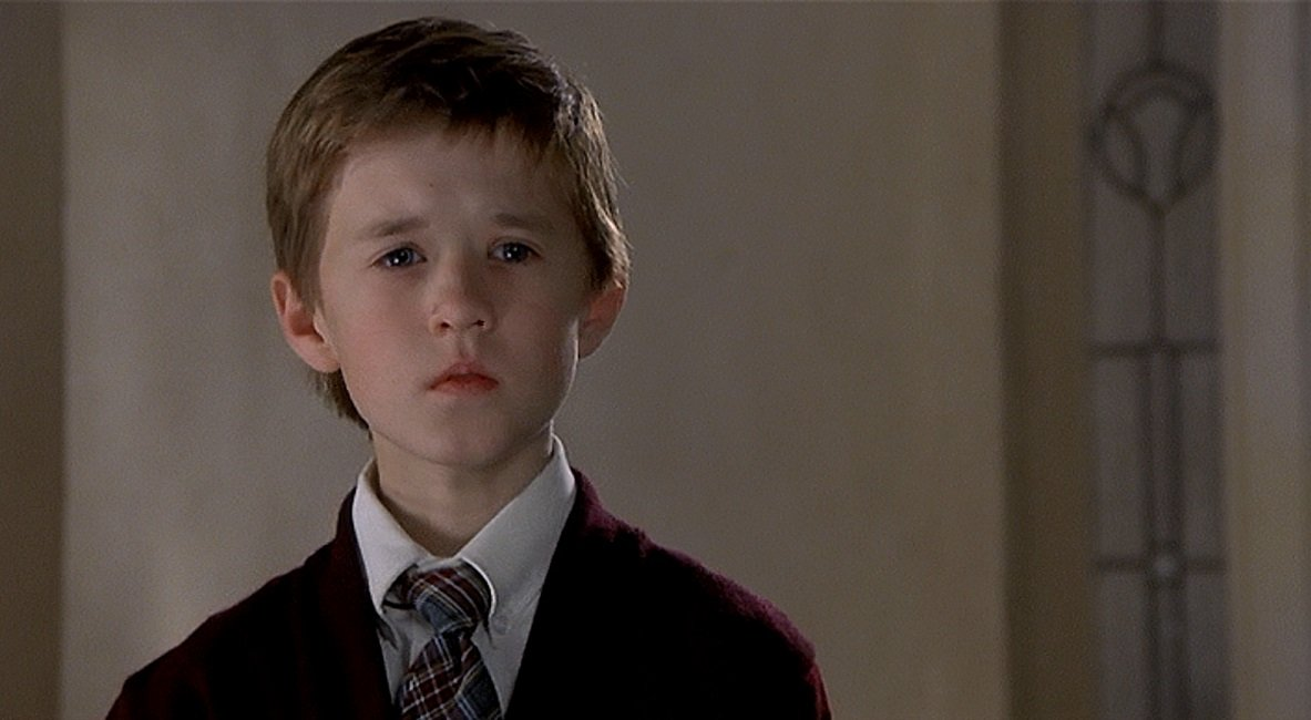 Haley Joel Osment as Cole Sear in The Sixth Sense, 1999