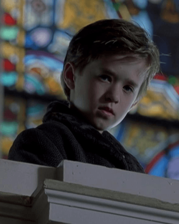 Haley Joel Osment as Cole Sear in The Sixth Sense
