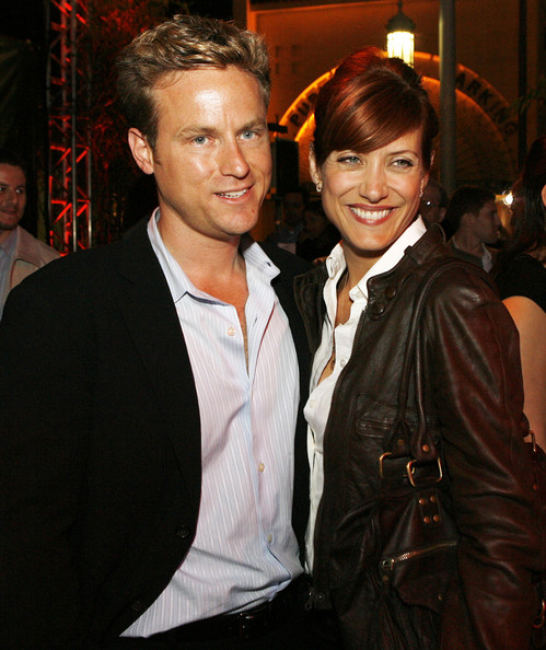 Grey's Anatomy Star Kate Walsh with her real-life partner Alex Young