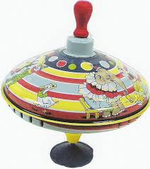 5. Spinning top 12 Of Our Favourite Pre-School Toys From The 80's