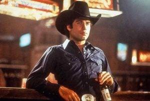John Travolta in the 80s musical hit Urban Cowboy