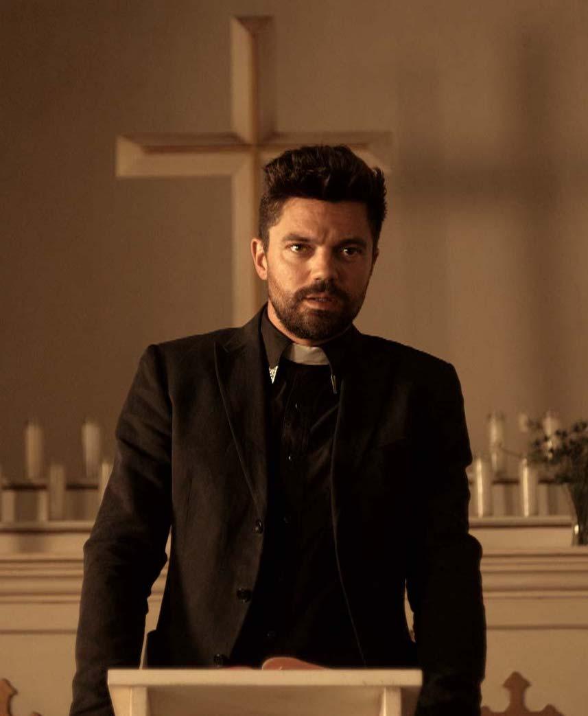 Dominic Cooper as Jesse Custer in Preacher