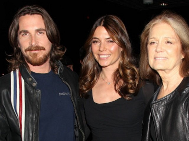 Christian Bale and Gloria Steinem 15 Things You Never Knew About Christian Bale
