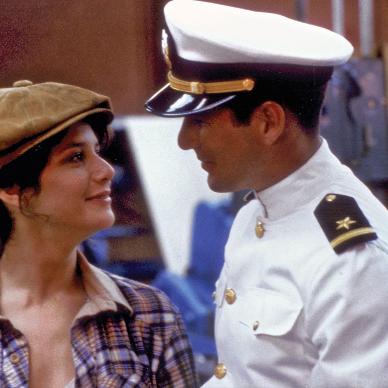 Debra Winger Richard Gere An Officer and e1579609557281 20 Things You Didn't Know About Richard Gere