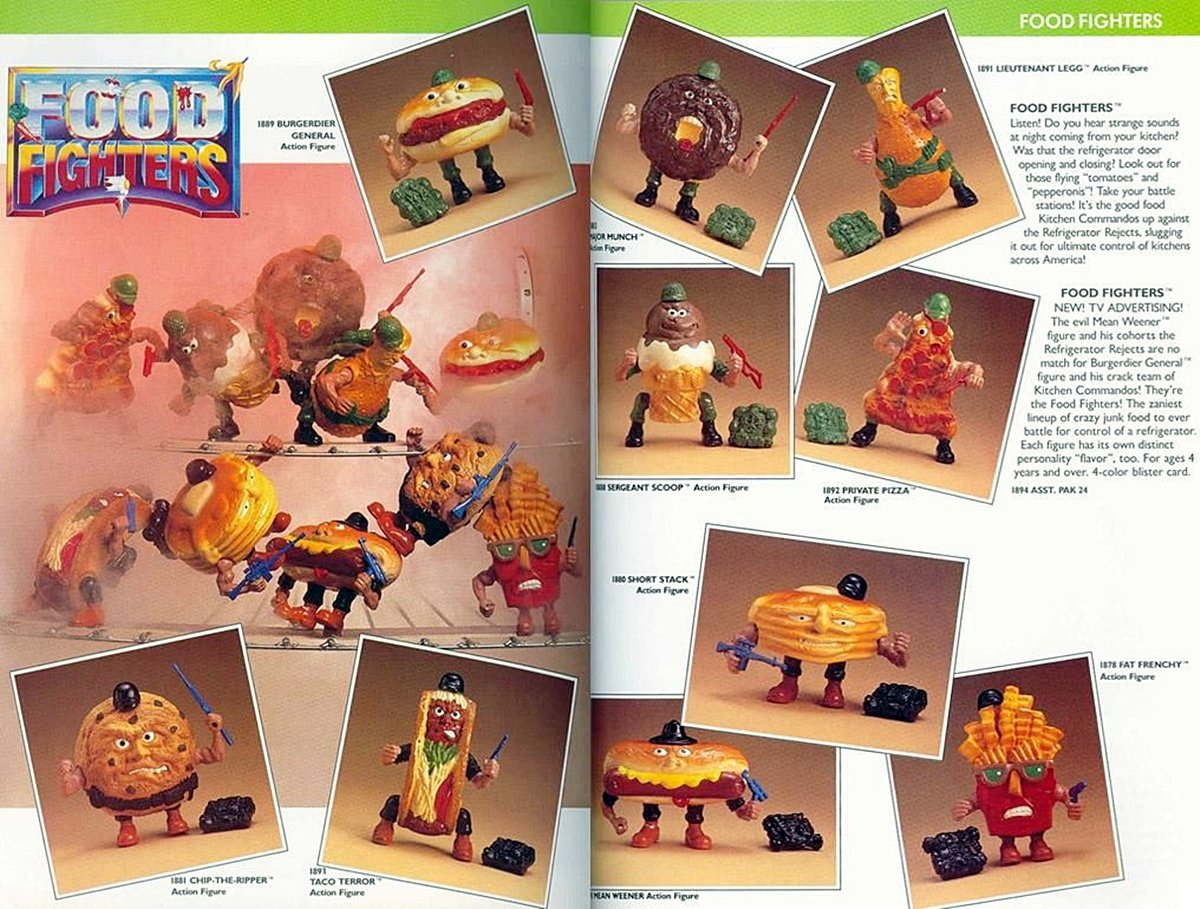 FOOD FIGHTERS 8 Food Based Toys That Will Remind You Of Being A Kid
