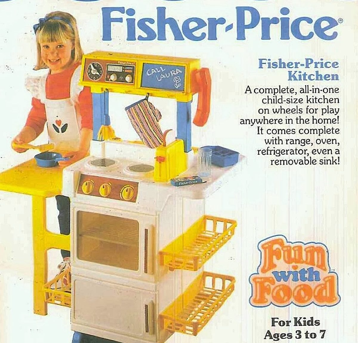 Fisher Price Kitchen e1614249142958 8 Food Based Toys That Will Remind You Of Being A Kid
