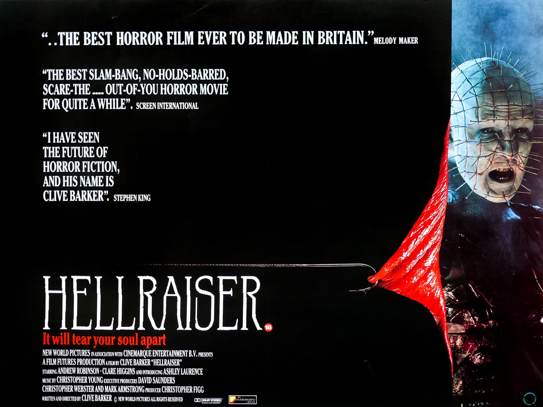 Hellraiser 2 These 10 Frightening Facts About Hellraiser Will Tear Your Soul Apart