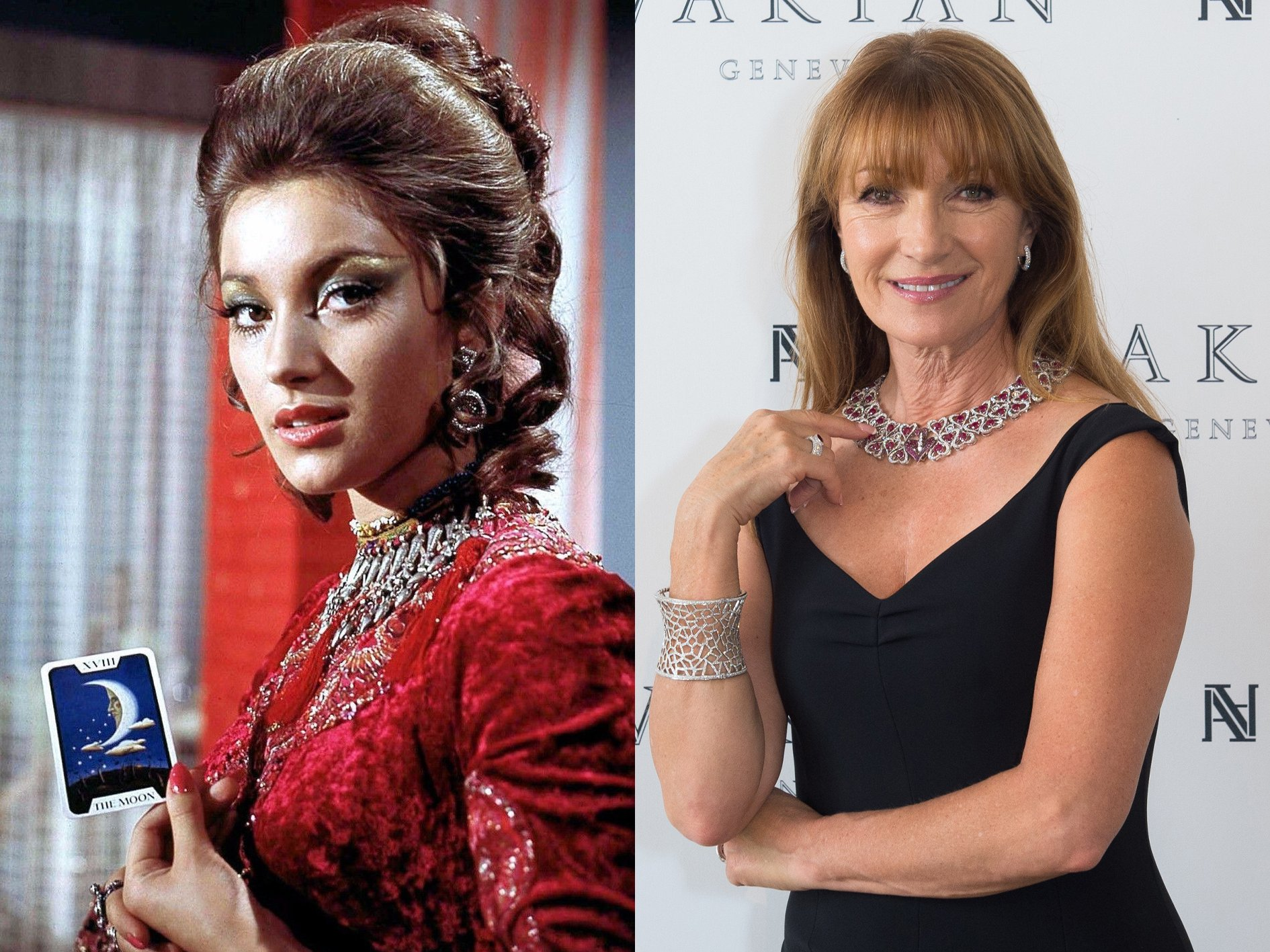 Jane Seymour Live and Let Die What Your Favourite Bond Girls Look Like Now