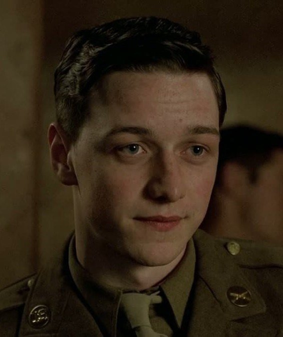 James McAvoy as Miller in Band of Brothers
