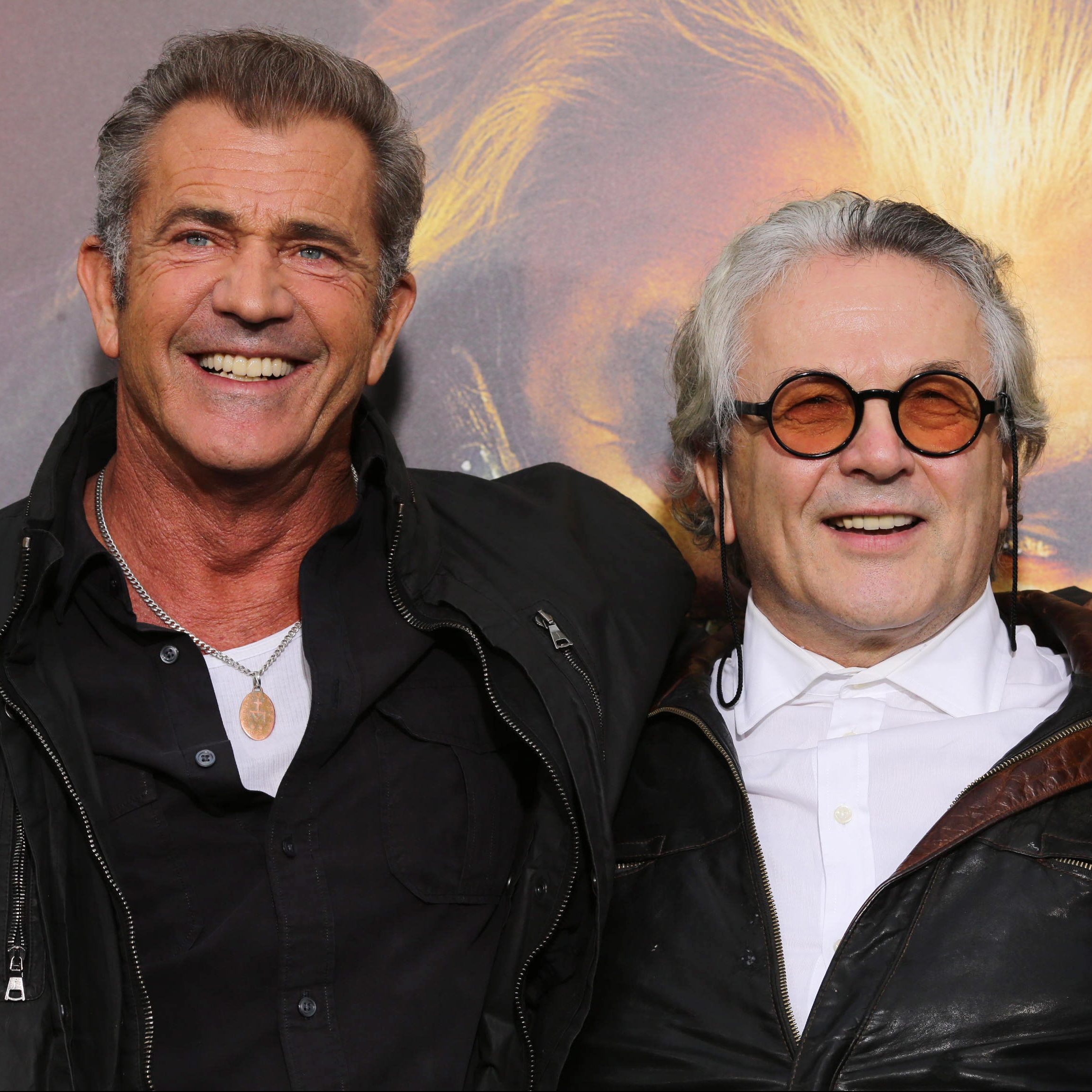 MadMaxPremiere MelGeorgeTom e1573642831524 Illegal Stunts And Extras Paid In Beer: How They Made 1979's Mad Max