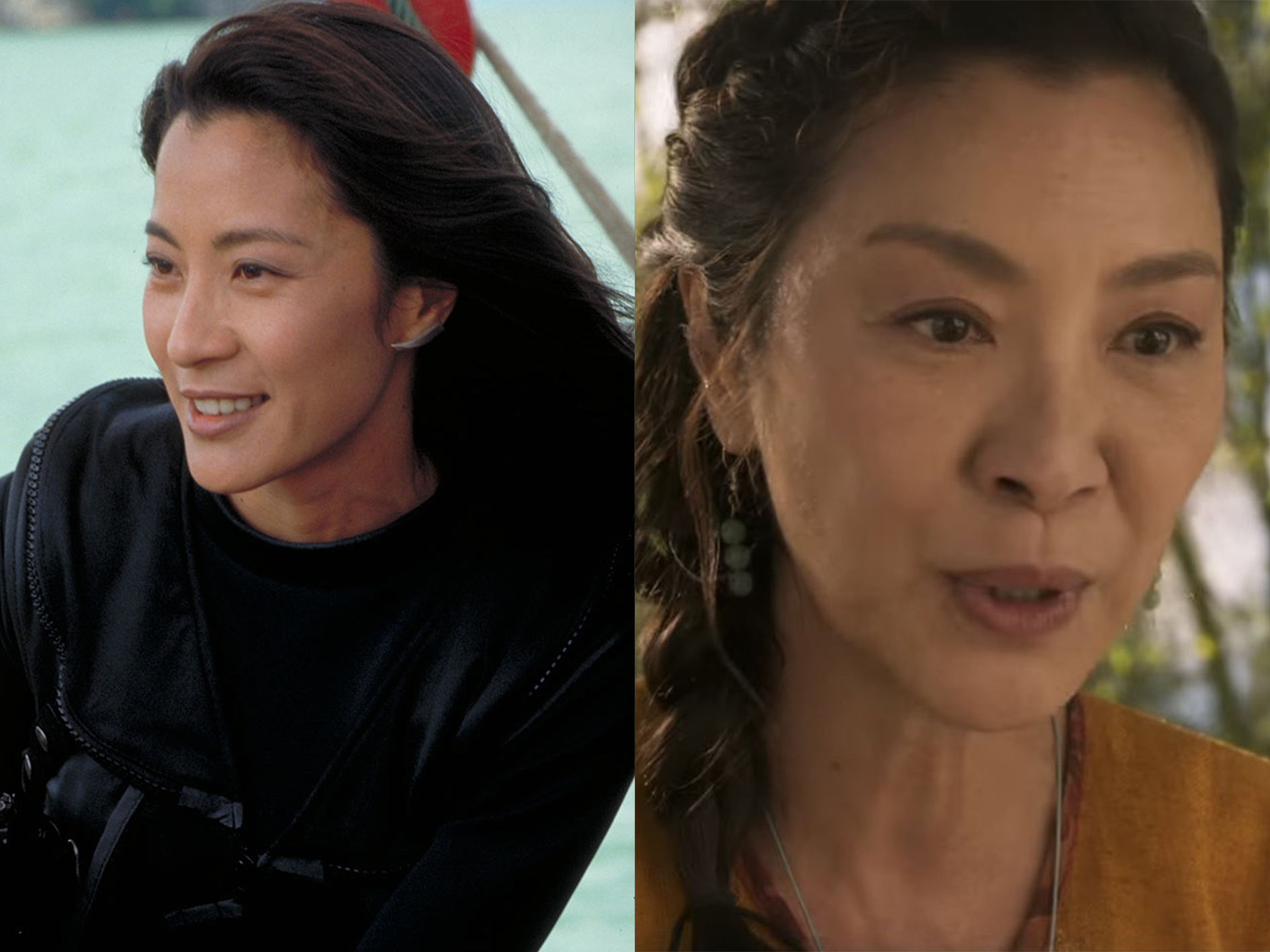 Michelle Yeoh Tomorrow Never Dies What Your Favourite Bond Girls Look Like Now