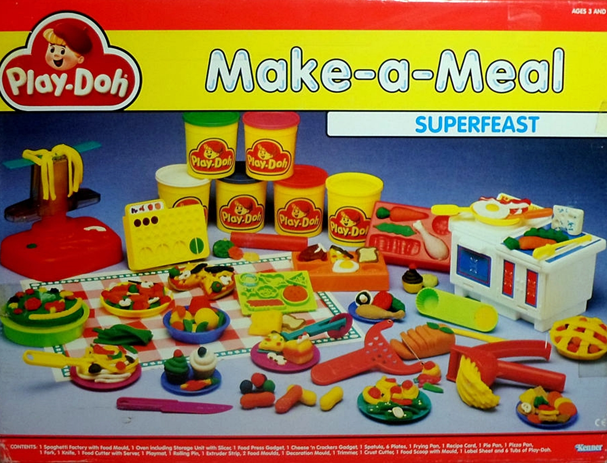 PLAY DOH 8 Food Based Toys That Will Remind You Of Being A Kid