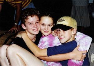 Rare Celebrity Photos 53 Justin Timberlake Jennifer McGill and Ryan Gosling 20 Rare Celebrity Photos You've Never Seen