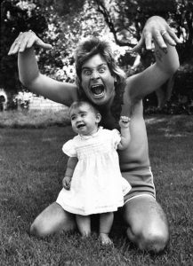 Rare Celebrity Photos 54 Ozzy Osbourne with his daughter Aimee Osbourne 20 Rare Celebrity Photos You've Never Seen