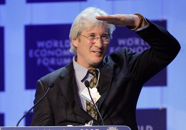 Richard Gere Davos 20 Things You Didn't Know About Richard Gere