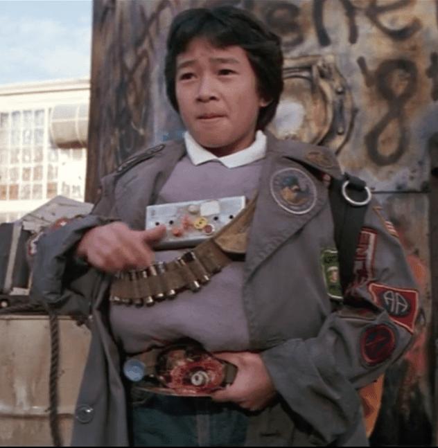 Jonathan Ke Huy Quan as Data in The Goonies