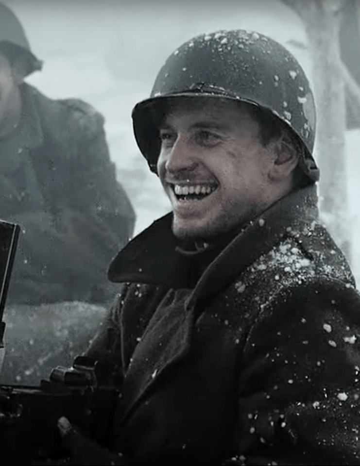 Michael Fassbender as Christenson in Band of Brothers