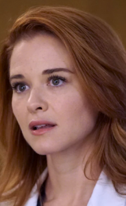 Sarah Drew as April Kepner in Grey's Anatomy
