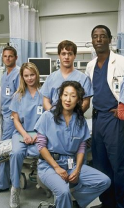 Some of the cast of Grey's Anatomy