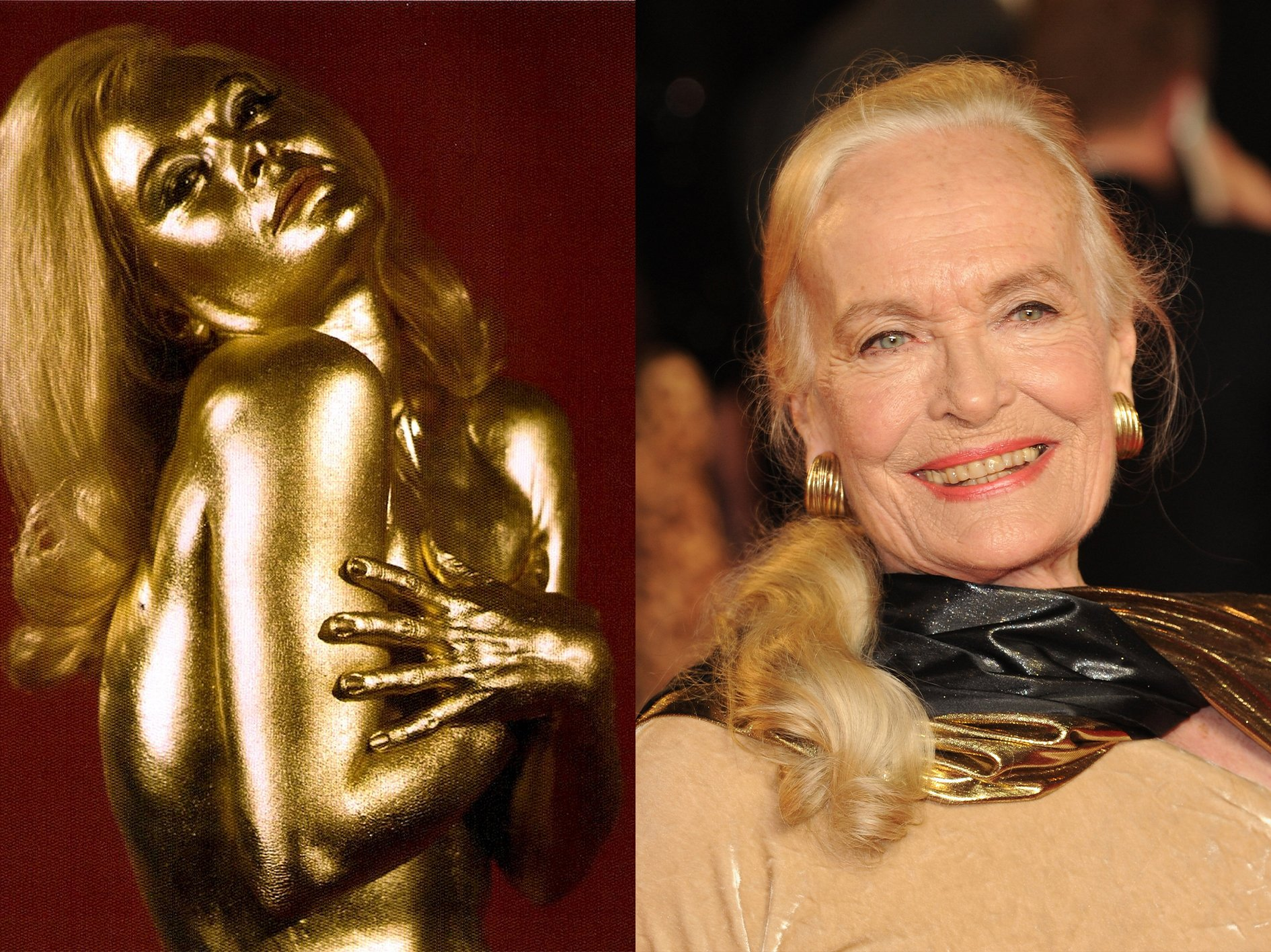 Shirley Eaton Goldfinger What Your Favourite Bond Girls Look Like Now