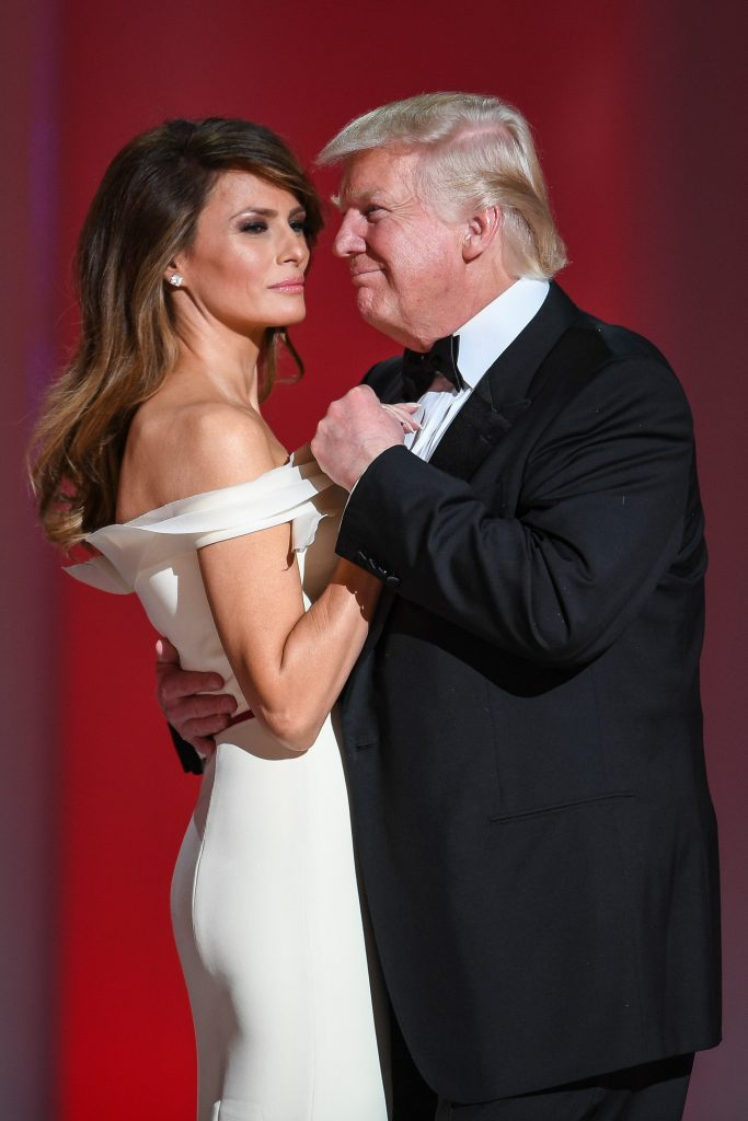 Trumps dancing at Liberty Ball 01 20 17 20 Things You Didn't Know About Donald Trump