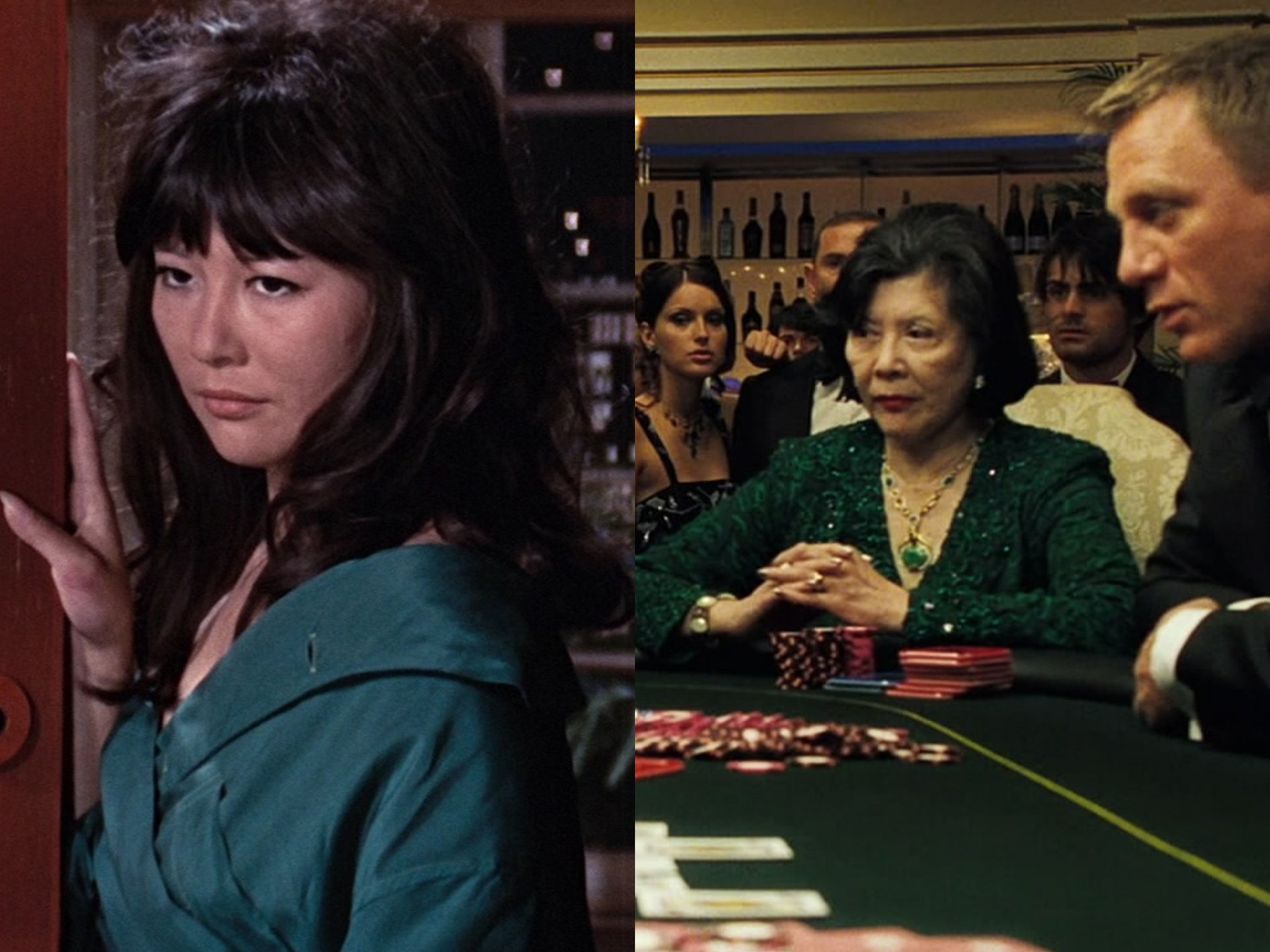 Tsai Chin Ling You Only Live Twice Casino Royale What Your Favourite Bond Girls Look Like Now