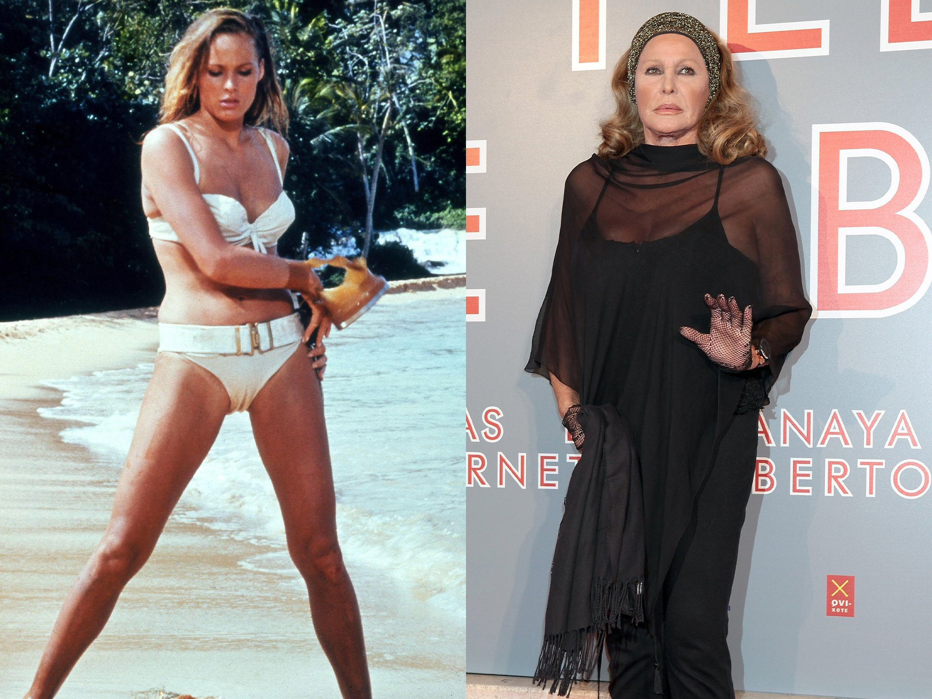 Ursula Andress Dr No What Your Favourite Bond Girls Look Like Now