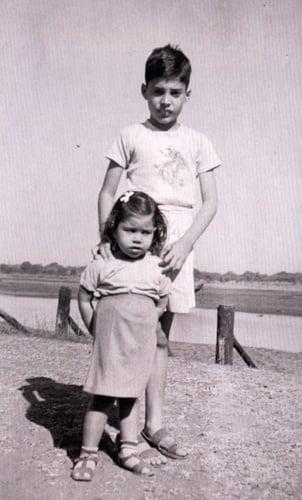 Young Freddie with sister Kashmira freddie mercury 32342035 302 500 30 Things You Didn't Know About Freddie Mercury