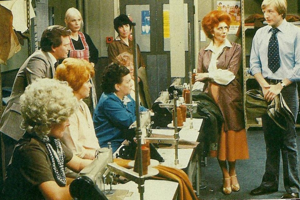 baldwins sewing room 20 Things You Never Knew About Coronation Street