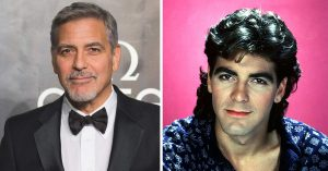 clooney 12 Celebrities Who Had Epic Hair In The 80s