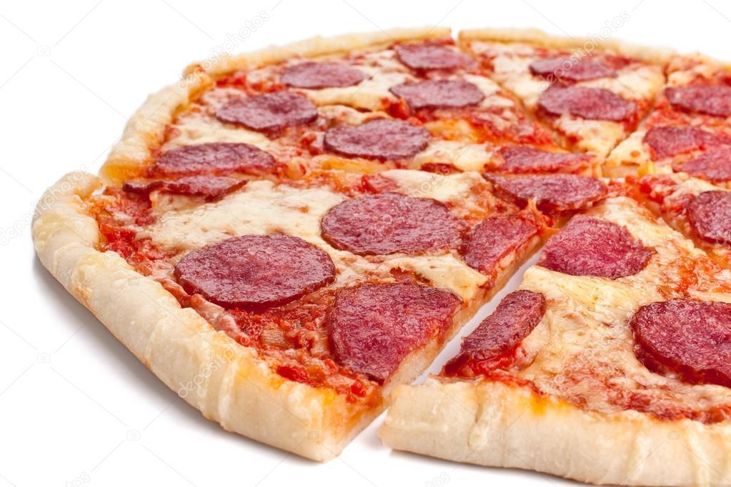 depositphotos 42006771 stock photo sliced whole salami pizza 15 Essential Fast Food Hacks To Beat The Establishment