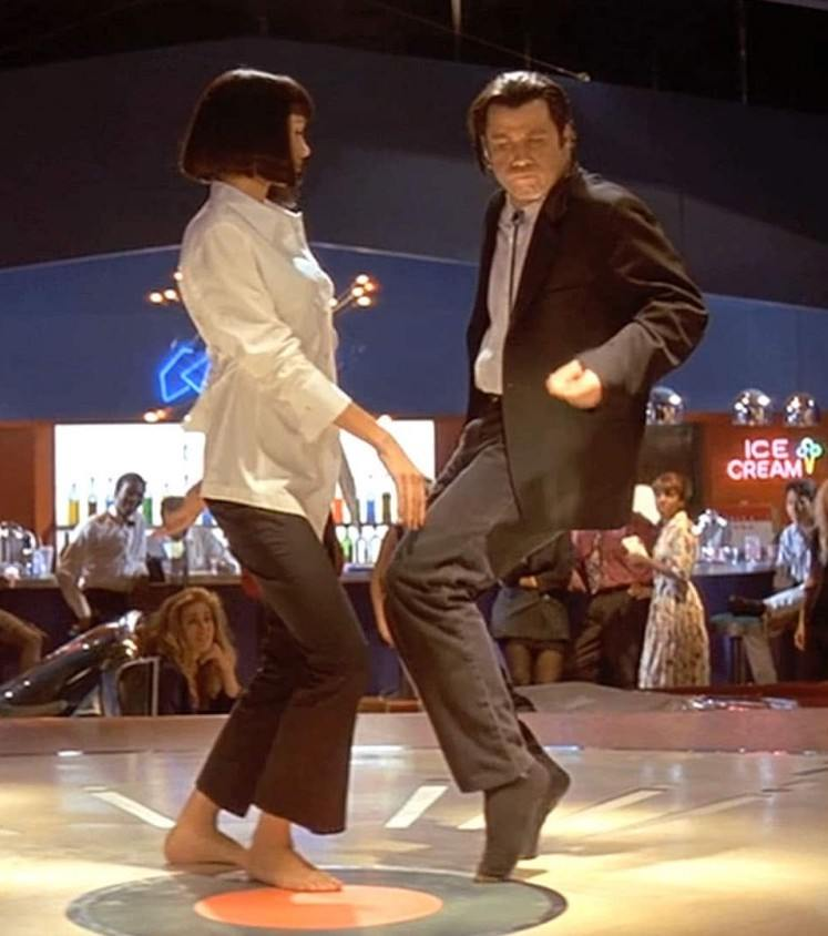 f8ecead pulpfictiondancing1 25 Things You Never Knew About Pulp Fiction