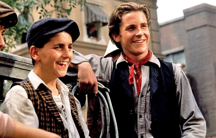 newsies christian bale 15 Things You Never Knew About Christian Bale