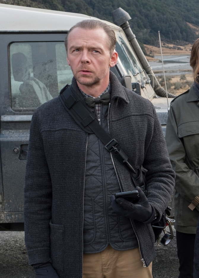 Simon Pegg as Benjy in Mission: Impossible - Fallout