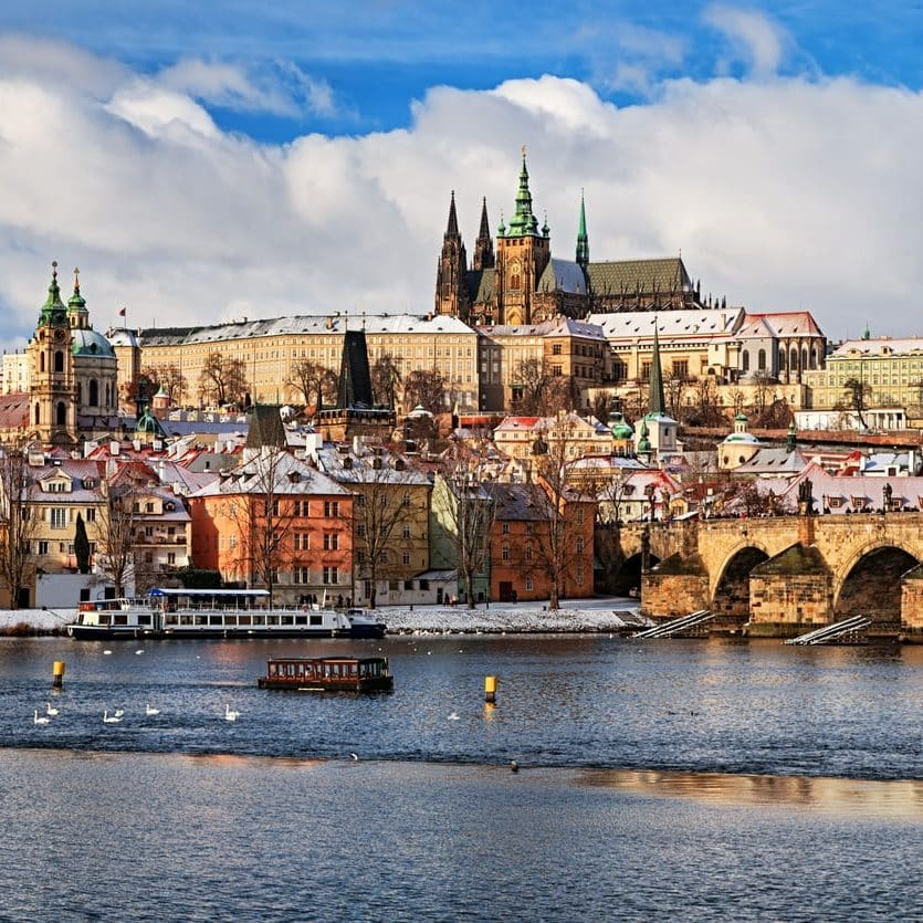 prague czech republic charles bridge prague castle e1573654118225 Illegal Stunts And Extras Paid In Beer: How They Made 1979's Mad Max