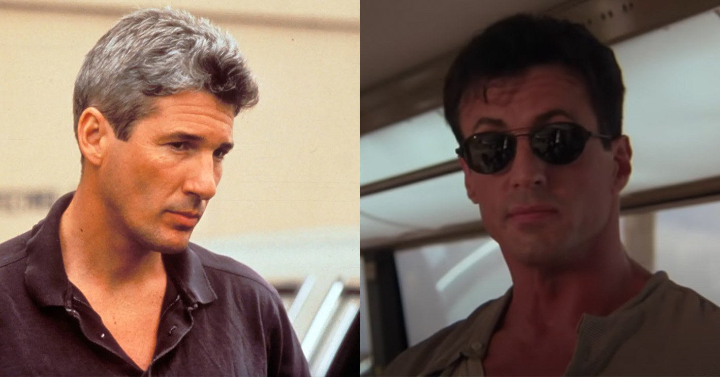 richard gere sylvester stallone 20 Things You Didn't Know About Richard Gere